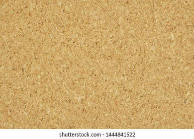 blank cork board with a wooden frame isolated on white background