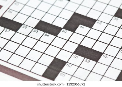 A blank crossword puzzle, not yet solved.