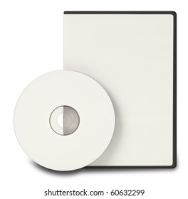 Blank DVD CD Clipping Path