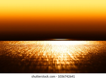 Blank eastern wooden cafe table background