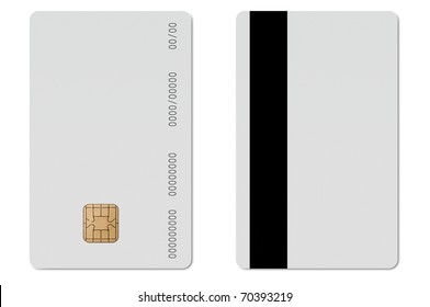 Blank ec credit card