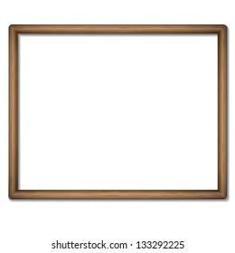 blank empty frame illustration