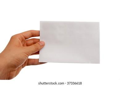 blank envelope -payment, corruption, mail concept