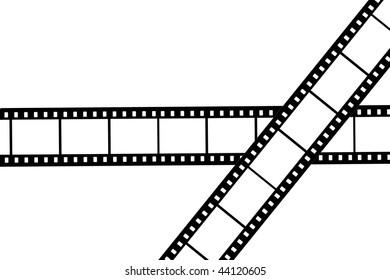 Blank film strips