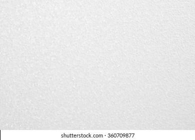 Blank foam texture background.