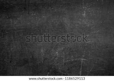 Blank Front Real Black Chalkboard Background Stock Photo Edit Now