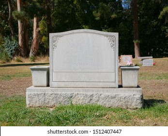 Blank Grave Stone Tombstone Background
