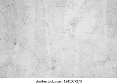 Blank grunge gray and white cement wall texture background, interior design background, banner