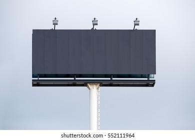 Blank Hoarding Billboard
