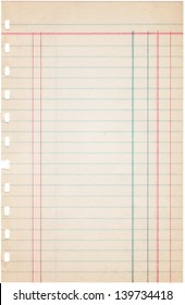 image regarding Printable Ledger Sheet named Ledger Paper Photographs, Inventory Pics Vectors Shutterstock