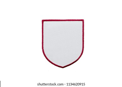 Blank Logo Patch on white background