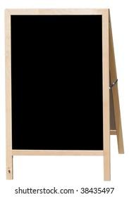 Blank menu board for restaurants