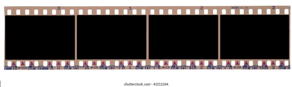 blank negative roll, 4 frames.