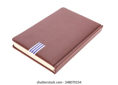 Blank Note book isolated on white background