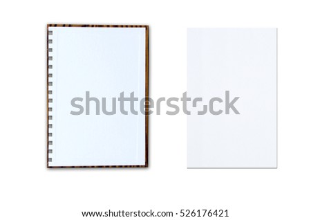 blank note paper lines on white stock photo edit now 526176421