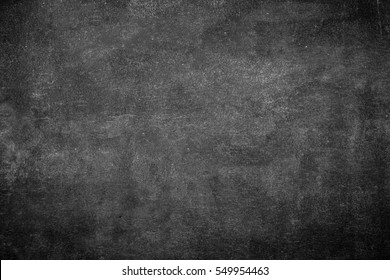 Blank old dust school chalkboard texture back side board. Black chalk grunge sketch on front table background concept for kids back to school on summer term, blank space text college design pattern.