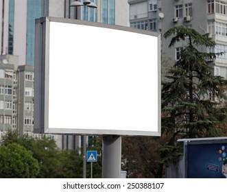 Blank outdoor