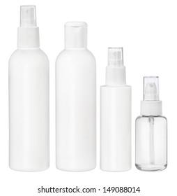 Blank packaging - bottles, cosmetics