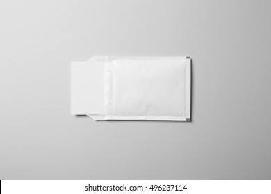 Blank padded Envelope Mock-up, ready to replace your design.