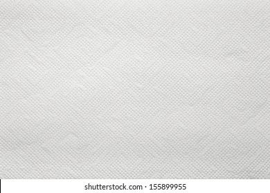 Blank paper napkin texture with copy space