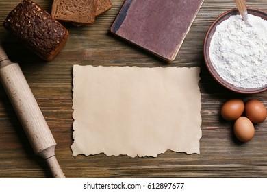 recipe sheet images stock photos vectors shutterstock