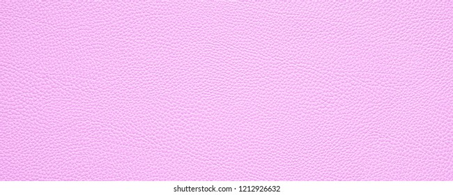 blank pink leather texture background banner or header with copy space