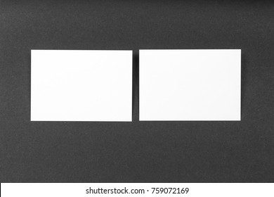 Blank portrait A4. brochure magazine isolated on gray, changeable background / white paper isolated on black