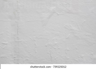 Blank poster creased texture