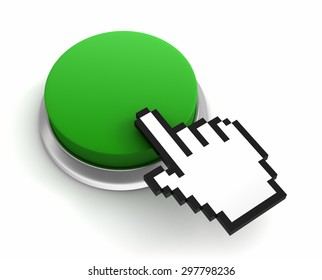 blank push button
