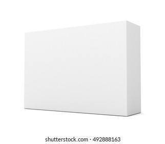 blank retail product box concept   3d illustration