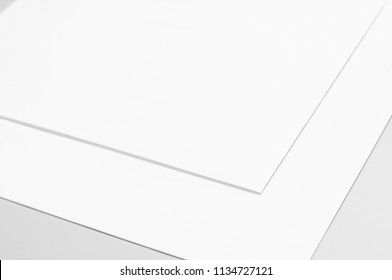Blank sheet of paper, sketching paper