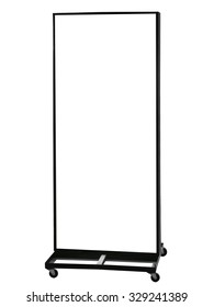 Blank Signboard stand template for Shop retails