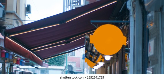 blank signboard visual signboard details colorful signboard street sign blank empty blank black white red
