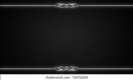 Blank Silent Movie Film Frame