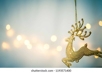 blank space and Christmas decoration for background