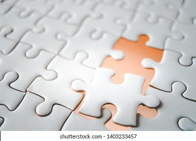 blank space of last piece jigsaw, missing piece concept