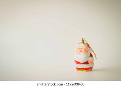 blank space, wooden frame and Christmas decoration for background