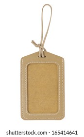Blank Tag Price Isolated on White Background