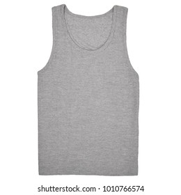 Tank top template images stock photos vectors shutterstock blank tank top template front view for women female with heather grey color on white background maxwellsz