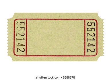 Blank Raffle Ticket Stock Photos Images Photography Shutterstock