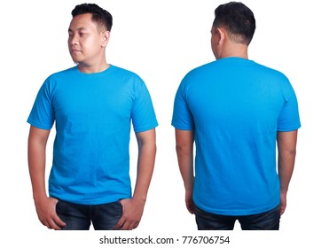 T Shirt Mockup Blue Images Stock Photos Vectors Shutterstock