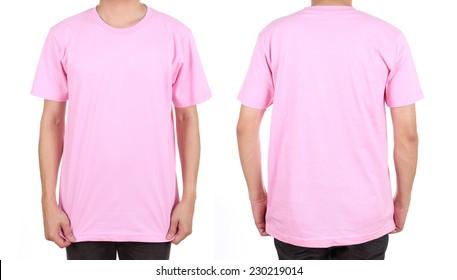 plain pink t shirt