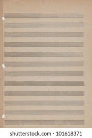 Blank Sheet Music Images, Stock Photos & Vectors | Shutterstock