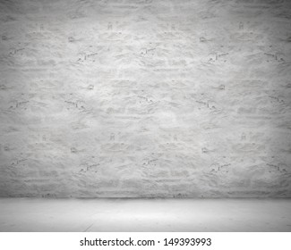 Blank wall made of stone. Place for text