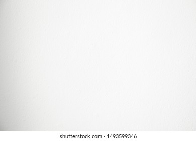 Blank white color wall concrete for texture background.