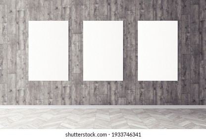 Blank white posters. Good use for you preview.