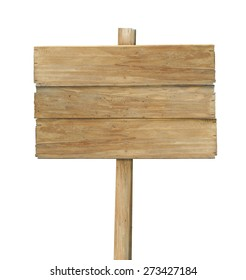 blank wooden sign  on a rope isolated