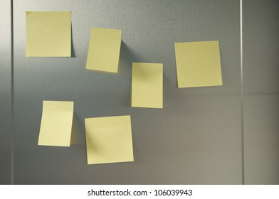 blank yellow memory pages