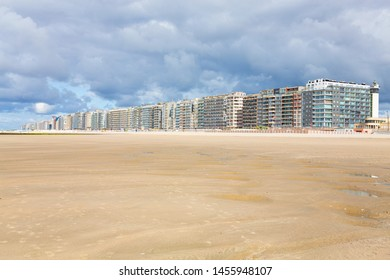 Blankenberge at the Atlantic ocean in Flanders, Belgium
