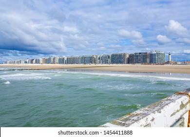 Blankenberge in Flanders, Atlantic coast, Belgium